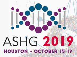 ASHG 2019 October 16-19 Houston